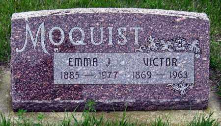 MOQUIST, EMMA - Davison County, South Dakota | EMMA MOQUIST - South Dakota Gravestone Photos