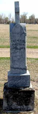 MUTZIGER, CATHERINE - Davison County, South Dakota | CATHERINE MUTZIGER - South Dakota Gravestone Photos