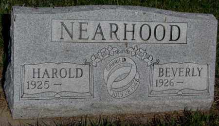 NEARHOOD, BEVERLY - Davison County, South Dakota | BEVERLY NEARHOOD - South Dakota Gravestone Photos