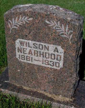NEARHOOD, WILSON A. - Davison County, South Dakota | WILSON A. NEARHOOD - South Dakota Gravestone Photos