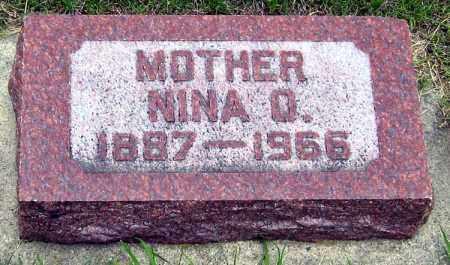 NEWTON, NINA - Davison County, South Dakota | NINA NEWTON - South Dakota Gravestone Photos