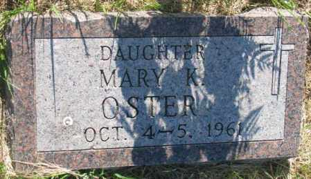 OSTER, MARY K. - Davison County, South Dakota | MARY K. OSTER - South Dakota Gravestone Photos