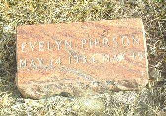 PIERSON, EVELYN - Davison County, South Dakota | EVELYN PIERSON - South Dakota Gravestone Photos
