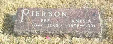 PIERSON, PER - Davison County, South Dakota | PER PIERSON - South Dakota Gravestone Photos