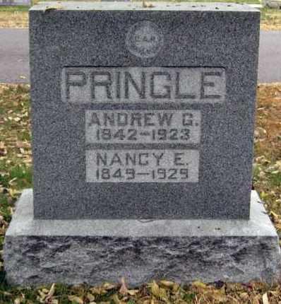 PRINGLE, ANDREW - Davison County, South Dakota | ANDREW PRINGLE - South Dakota Gravestone Photos