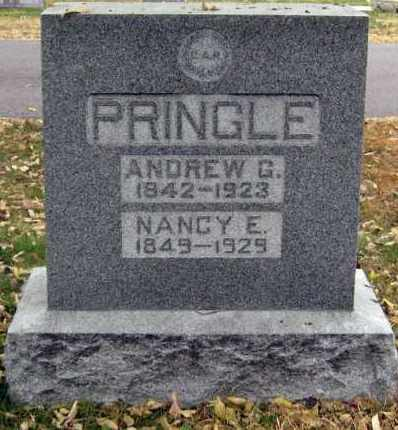 PRINGLE, ANDREW - Davison County, South Dakota | ANDREW PRINGLE - South Dakota Gravestone Photos
