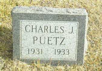 PUETZ, CHARLES - Davison County, South Dakota | CHARLES PUETZ - South Dakota Gravestone Photos