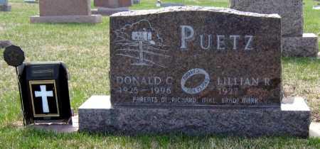 PUETZ, LILLIAN - Davison County, South Dakota | LILLIAN PUETZ - South Dakota Gravestone Photos