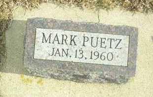 PUETZ, MARK - Davison County, South Dakota | MARK PUETZ - South Dakota Gravestone Photos