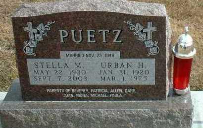 PUETZ, URBAN - Davison County, South Dakota | URBAN PUETZ - South Dakota Gravestone Photos