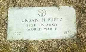 PUETZ, URBAN - Davison County, South Dakota | URBAN PUETZ - South Dakota Gravestone Photos