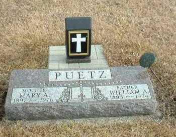 PUETZ, WILLIAM - Davison County, South Dakota | WILLIAM PUETZ - South Dakota Gravestone Photos