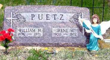 PUETZ, IRENE - Davison County, South Dakota | IRENE PUETZ - South Dakota Gravestone Photos