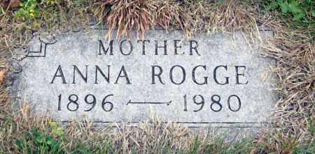 ROGGE, ANNA - Davison County, South Dakota | ANNA ROGGE - South Dakota Gravestone Photos