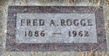 ROGGE, FRED - Davison County, South Dakota | FRED ROGGE - South Dakota Gravestone Photos