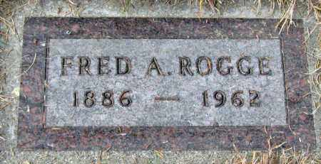 ROGGE, FRED - Davison County, South Dakota | FRED ROGGE - South Dakota Gravestone Photos
