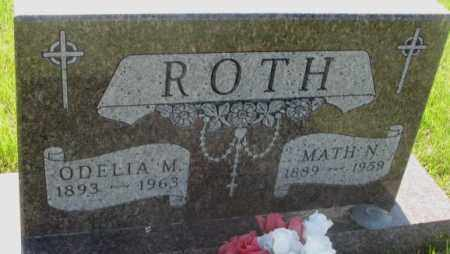 ROTH, MATH N. - Davison County, South Dakota | MATH N. ROTH - South Dakota Gravestone Photos