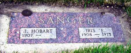 SANGER, IRIS - Davison County, South Dakota | IRIS SANGER - South Dakota Gravestone Photos