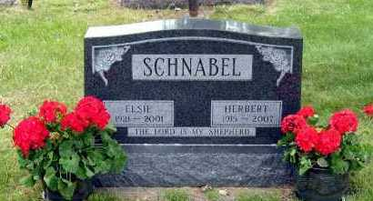 SCHNABEL, ELSIE - Davison County, South Dakota | ELSIE SCHNABEL - South Dakota Gravestone Photos