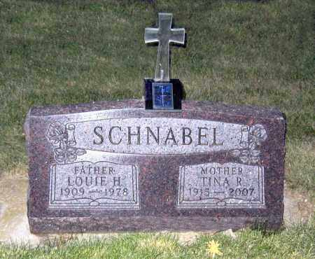 SCHNABEL, LOUIE - Davison County, South Dakota | LOUIE SCHNABEL - South Dakota Gravestone Photos