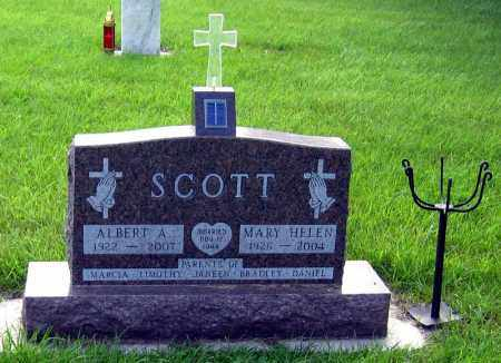 SCOTT, ALBERT - Davison County, South Dakota | ALBERT SCOTT - South Dakota Gravestone Photos