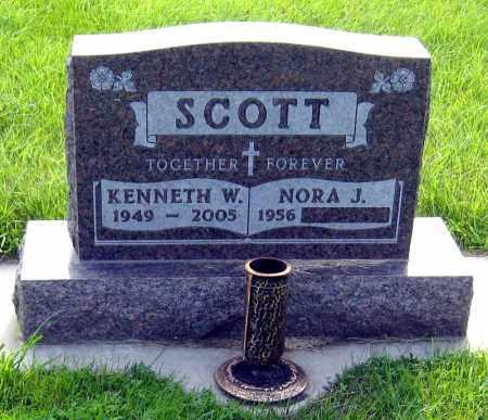 SCOTT, NORA - Davison County, South Dakota | NORA SCOTT - South Dakota Gravestone Photos