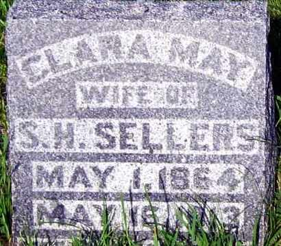 SELLERS, CLARA - Davison County, South Dakota | CLARA SELLERS - South Dakota Gravestone Photos