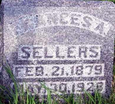 SELLERS, FRANCES - Davison County, South Dakota | FRANCES SELLERS - South Dakota Gravestone Photos