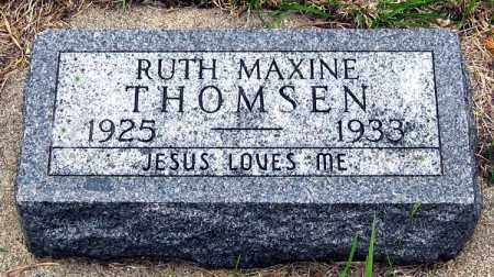 THOMSEN, RUTH - Davison County, South Dakota   RUTH THOMSEN - South Dakota Gravestone Photos