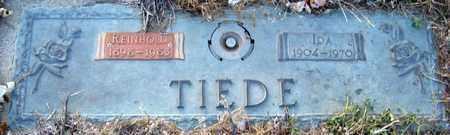 LEISCHNER TIEDE, IDA - Davison County, South Dakota | IDA LEISCHNER TIEDE - South Dakota Gravestone Photos
