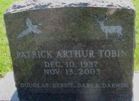 TOBIN, PATRICK ARTHUR - Davison County, South Dakota   PATRICK ARTHUR TOBIN - South Dakota Gravestone Photos