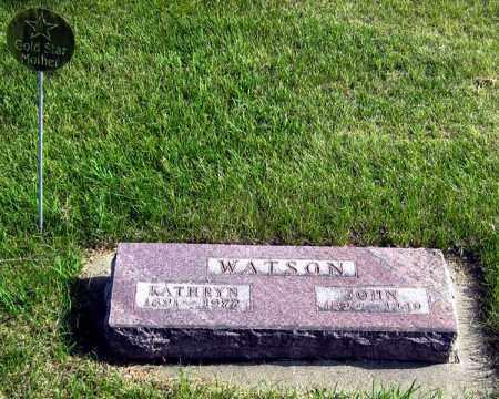 WATSON, JOHN - Davison County, South Dakota | JOHN WATSON - South Dakota Gravestone Photos