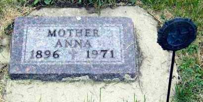 WERMERS, ANNA - Davison County, South Dakota | ANNA WERMERS - South Dakota Gravestone Photos