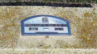 WERMERS, BABY - Davison County, South Dakota | BABY WERMERS - South Dakota Gravestone Photos