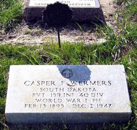 WERMERS, CASPER - Davison County, South Dakota | CASPER WERMERS - South Dakota Gravestone Photos