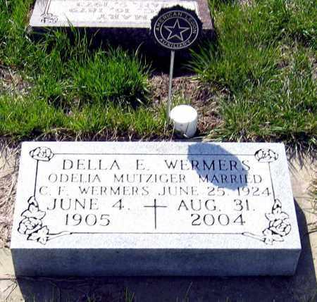 WERMERS, DELLA - Davison County, South Dakota   DELLA WERMERS - South Dakota Gravestone Photos