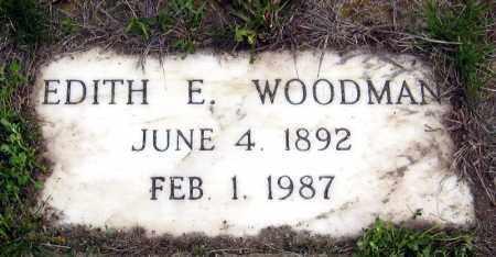WOODMAN, EDITH - Davison County, South Dakota | EDITH WOODMAN - South Dakota Gravestone Photos