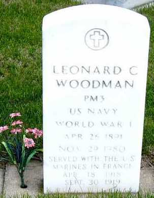 WOODMAN, LEONARD - Davison County, South Dakota | LEONARD WOODMAN - South Dakota Gravestone Photos