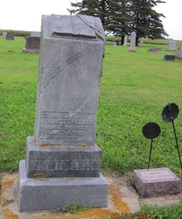 CHRISTOFERSON, EDWARD - Day County, South Dakota | EDWARD CHRISTOFERSON - South Dakota Gravestone Photos