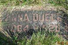 DUELL, ANNA MAY - Day County, South Dakota   ANNA MAY DUELL - South Dakota Gravestone Photos