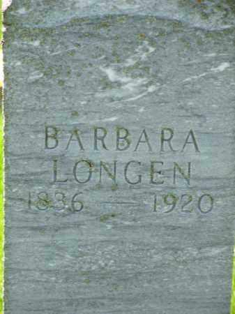 LONGEN, BARBARA - Day County, South Dakota   BARBARA LONGEN - South Dakota Gravestone Photos