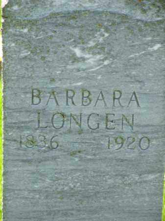 LONGEN, BARBARA - Day County, South Dakota | BARBARA LONGEN - South Dakota Gravestone Photos