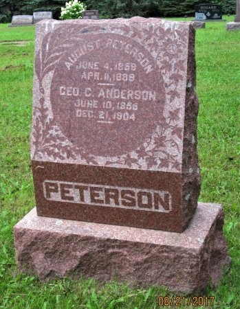 ANDERSON, GEORGE C. - Day County, South Dakota | GEORGE C. ANDERSON - South Dakota Gravestone Photos