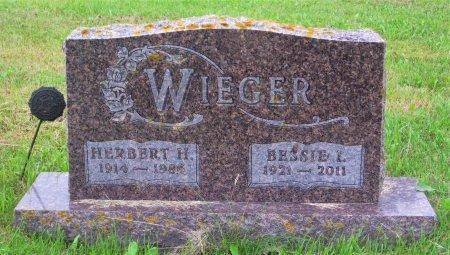 WIEGER, HERBERT H. - Day County, South Dakota | HERBERT H. WIEGER - South Dakota Gravestone Photos