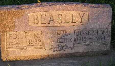 BEASLEY, JOSEPH W. - Deuel County, South Dakota   JOSEPH W. BEASLEY - South Dakota Gravestone Photos