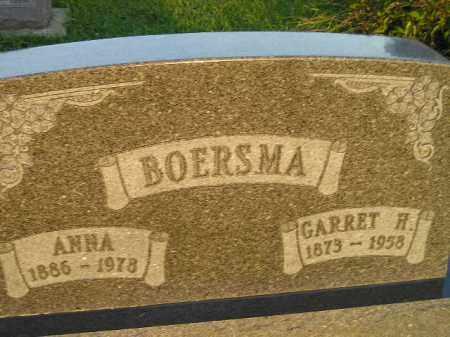 BOERSMA, ANNA - Deuel County, South Dakota   ANNA BOERSMA - South Dakota Gravestone Photos