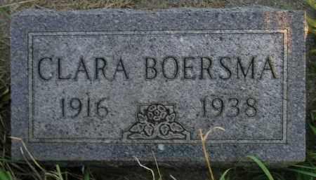 BOERSMA, CLARA - Deuel County, South Dakota | CLARA BOERSMA - South Dakota Gravestone Photos
