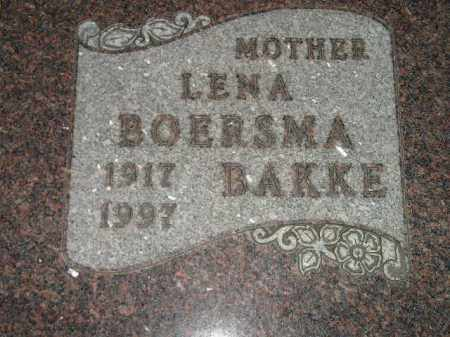 BOERSMA, LENA - Deuel County, South Dakota | LENA BOERSMA - South Dakota Gravestone Photos