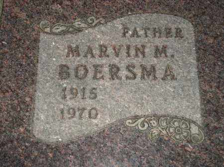 BOERSMA, MARVIN M. - Deuel County, South Dakota | MARVIN M. BOERSMA - South Dakota Gravestone Photos