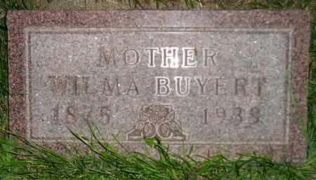 BUYERT, WILMA - Deuel County, South Dakota   WILMA BUYERT - South Dakota Gravestone Photos